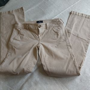 AEO khakis size 0 boot cut
